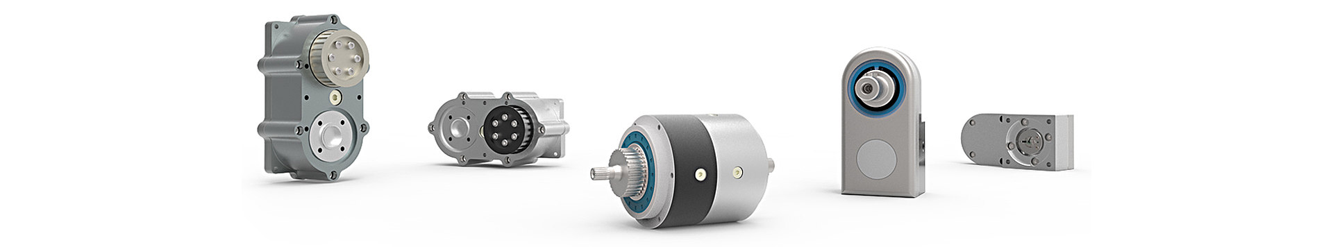 Five different examples of tailor-made gearbox solutions